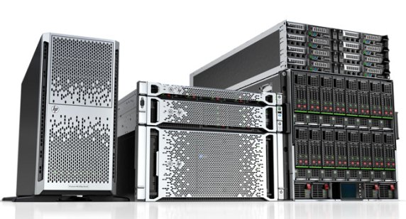 self sufficient HP ProLiant Gen8 servers