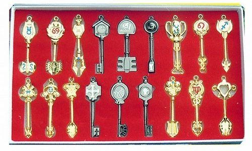 fairy tail lucy's celestial key chain set - Whatswithjeff
