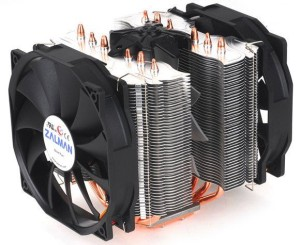 Zalman CNPS14X: Zalman's next High-end CPU Cooler