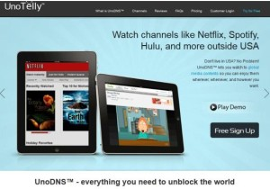 UnoTelly Review: Now You can Watch US-Based Channels Online