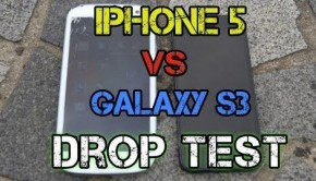 samsung galaxy s3 vs iphone 5 drop test
