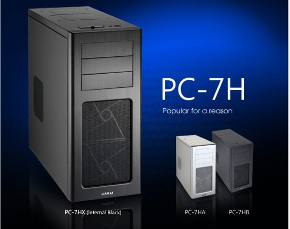 full aluminum mid tower chassis