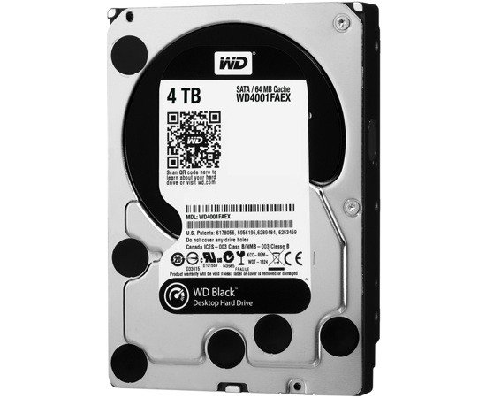 western digital black 4 tb