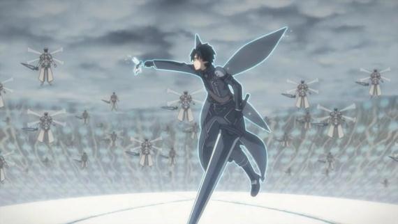 sword art online 24 the gilded hero