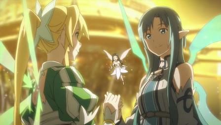 lyfa and asuna in alfheim online