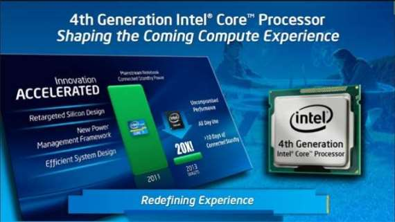 4th generation intel core haswell processors