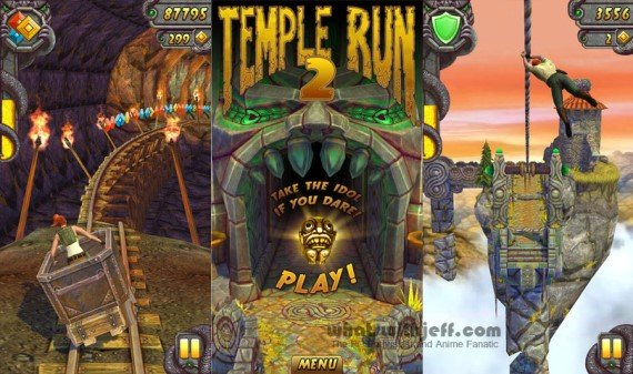 temple run 2 game free  for windows mobile