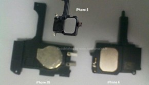 iphone 5s and iphone 6 parts leaked