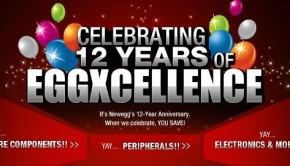 newegg anniversary sale 2013 promo codes