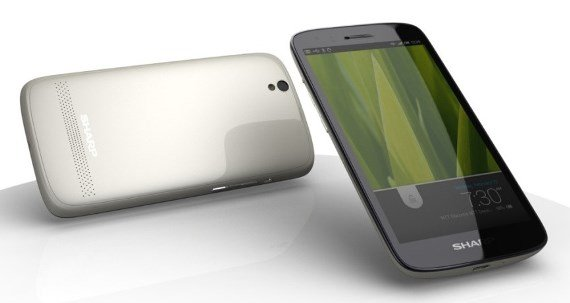 sharp sh930w aquos smartphone