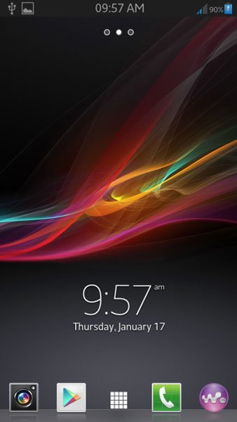 sony xperia z launcher for android