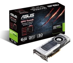 Asus, Gigabyte and EVGA GeForce GTX Titan is now available on Amazon