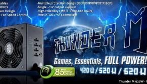 cooler master thunder m 620w modular psu