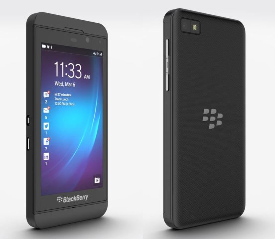 bb z10 black