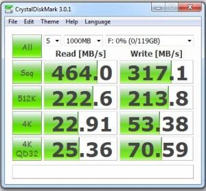 samsung 830 128gb - crystaldiskmark