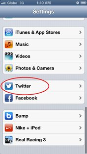 sign out twitter for iphone and ipad 2