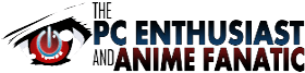 The PC Enthusiast and Anime Fanatic logo