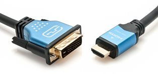BlueRigger High Speed HDMI to DVI Cable