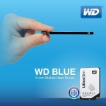WD Blue 2.5-inch Hard Drive – World's First Ultra Slim 5mm HDD