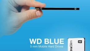 WD blue 2.5-inch 5mm ultra slim SSHD