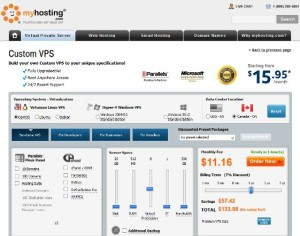 MyHosting Coupon Code for April 2013 – Fresh New Premium VPS