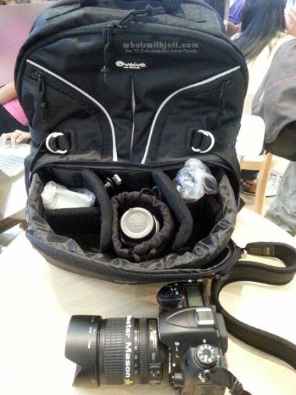 tuff-luv e-volve expedition slr camera backpack