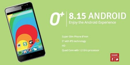 O plus 8.15 android smartphone