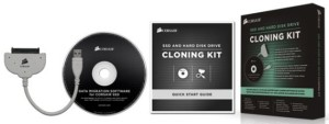 Corsair SSD and Hard Drive Cloning Kit for Easy Migration