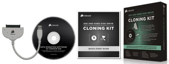 corsair ssd and hard drive cloning software