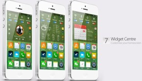 ios 7 concept design