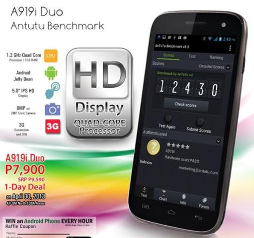root myphone a919i duo