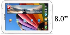Samsung Galaxy Tab 3 8.0 Specifications and Release Date