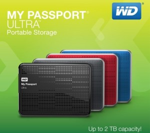 WD My Passport Ultra Comes With Auto Backup and Security Features