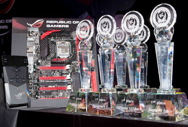 ASUS Maximus VI Extremeovercloacking supremacy