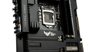 ASUS TUF Gryphon Z87 with Gryphon Armor Kit installed