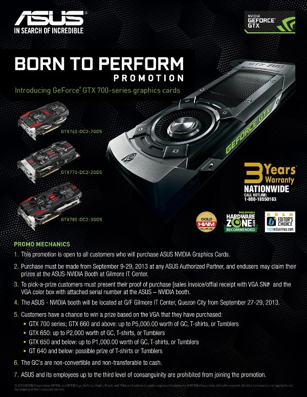 asus born to perform promo