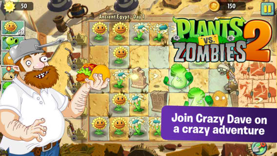 plants vs zombies 2 for android release date