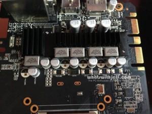 GTX760-DC2OC-2GD5 capacitors