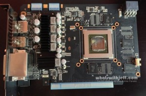GTX760-DC2OC-2GD5 pcb front
