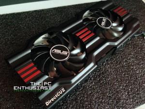 Asus DirectCU II Fans Top