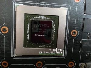 Asus GTX 770-DC2OC-2GD5 KG104 Chip