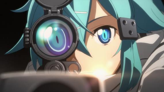 sword art online ii gun gale online phantom bullet arc