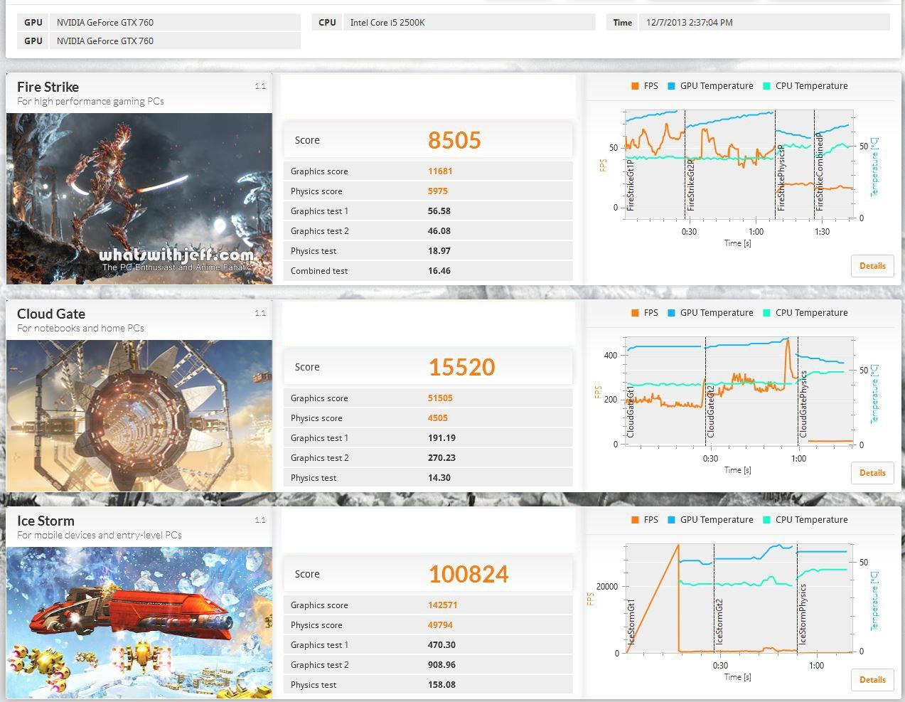 3dmark advance all benchmark intel