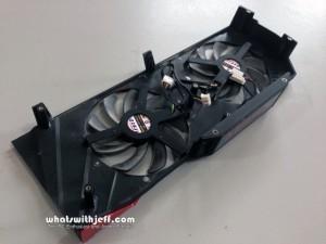 Asu ROG MARS 280mm fan cooler back