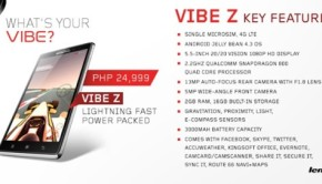 lenovo vibe z k910 specs price review