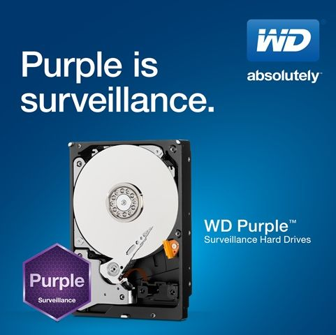 wd purple surveillance drive specifications