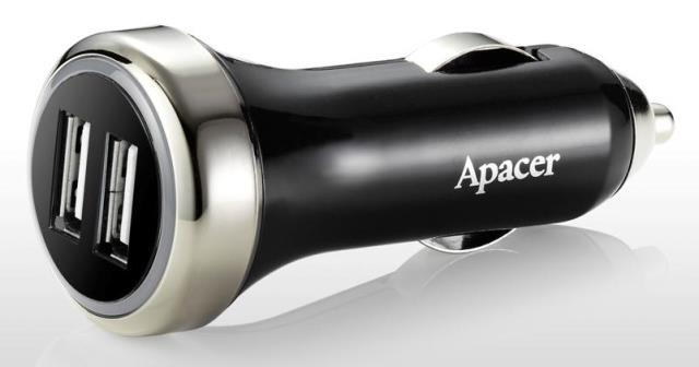 Apacer Dual USB Car Charger C320