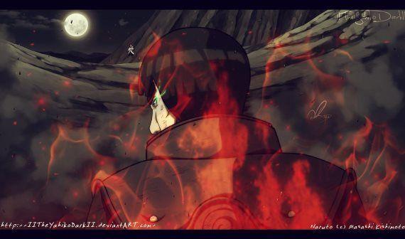 Naruto 668 Gai's 8th Gate Red Beast