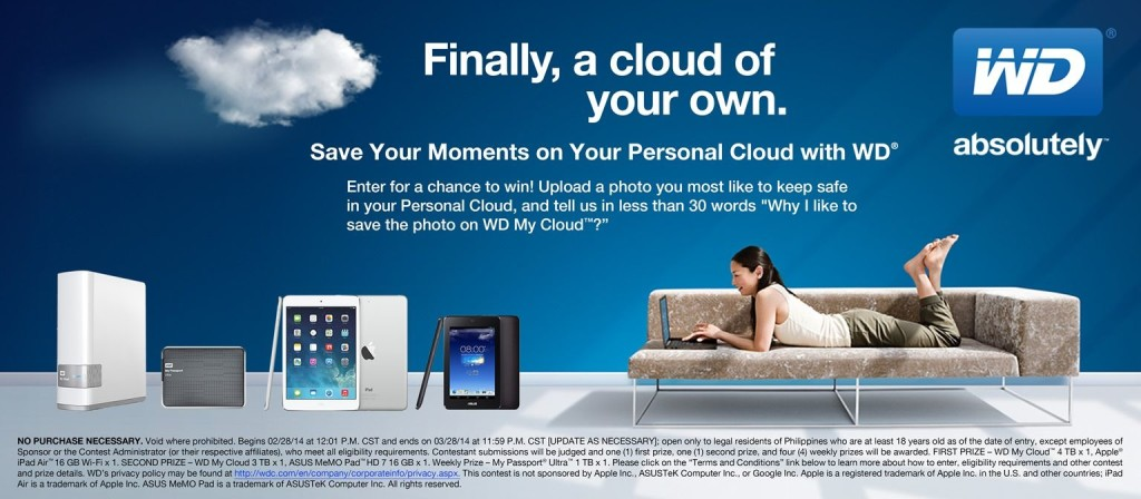 WD Save Your Moments Facebook Contest