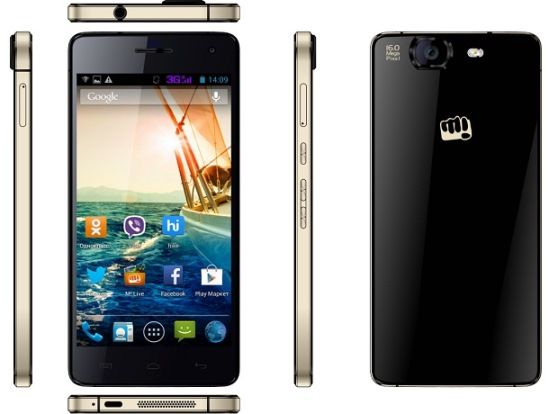 myphone infinity aka Micromax Canvas Knight A350